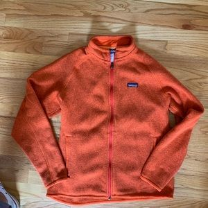 Men's Large Orange Patagonia Jacket